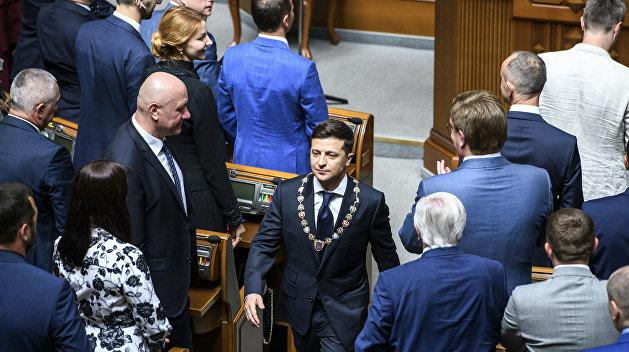 Верховная Рада отказалась рассматривать законопроект Зеленского о незако...