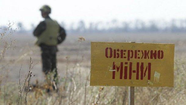 Боевики на Донбассе минируют
