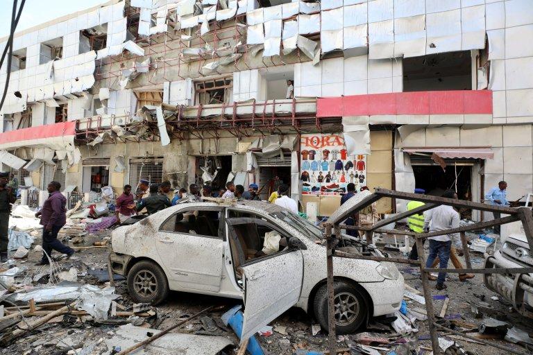 Взрыв в столице Сомали: погибли одиннадцать человек