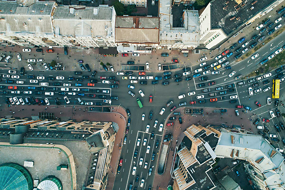 Тромбы киевских артерий. Как в столице предлагают решать проблему пробок