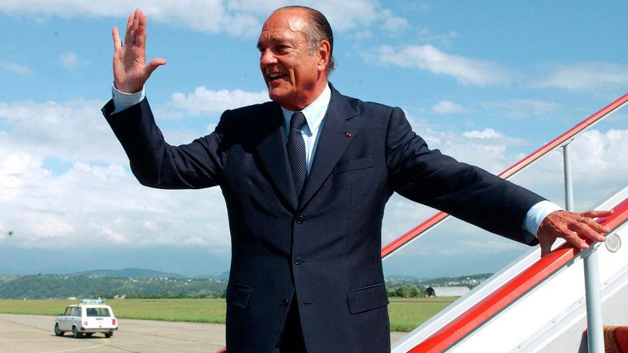 Умер экс-президент Франции Жак Ширак