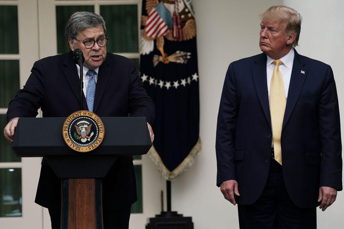 """""""Делает мою работу невозможной"""". Генпрокурор США раскритиковал Трампа за..."""