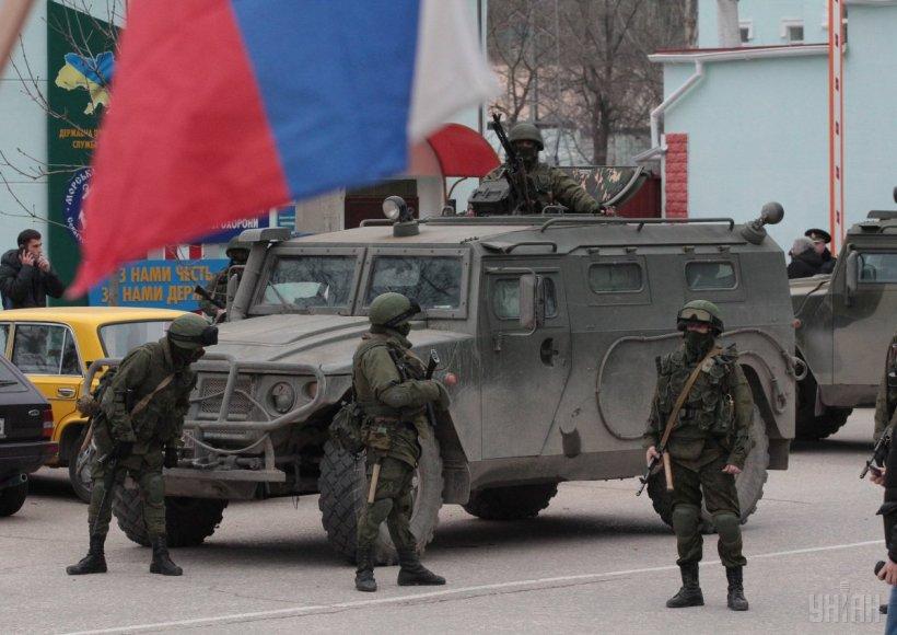Россия перебросила в оккупированный Крым десантников и морпехов