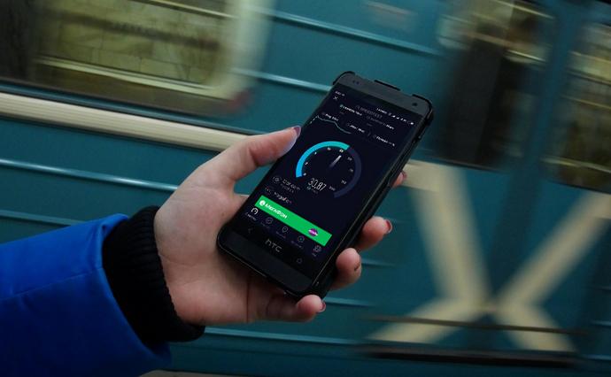 У Кличко обещают весной начать проводить 4G-интернет в метро
