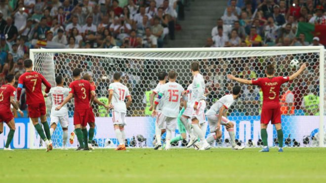 Сборные Испании и Португалии сыграли вничью