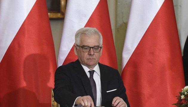 В Польше рассказали, как помочь Украине в ситуации на Донбассе