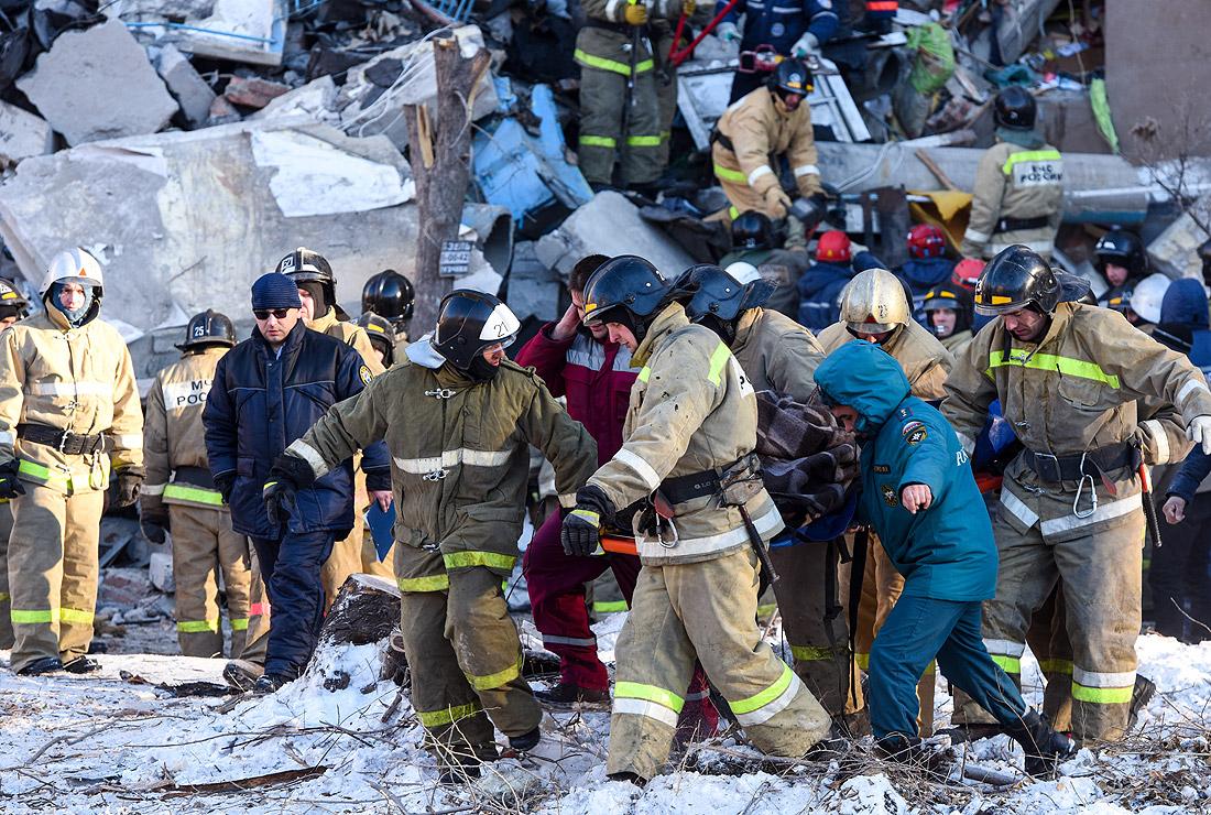 Число жертв трагедии в Магнитогорске достигло 39 человек, под обломками...