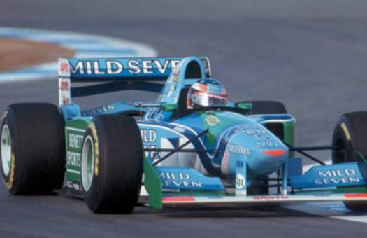 Чемпионская машина Шумахера выставлена на интернет-аукцион