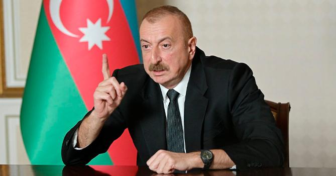 Алиев заявил, что Азербайджан взял Гадрут и несколько сел Нагорного Кара...