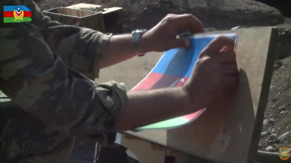 Минобороны Азербайджана показало, как армия взяла под контроль часть Наг...