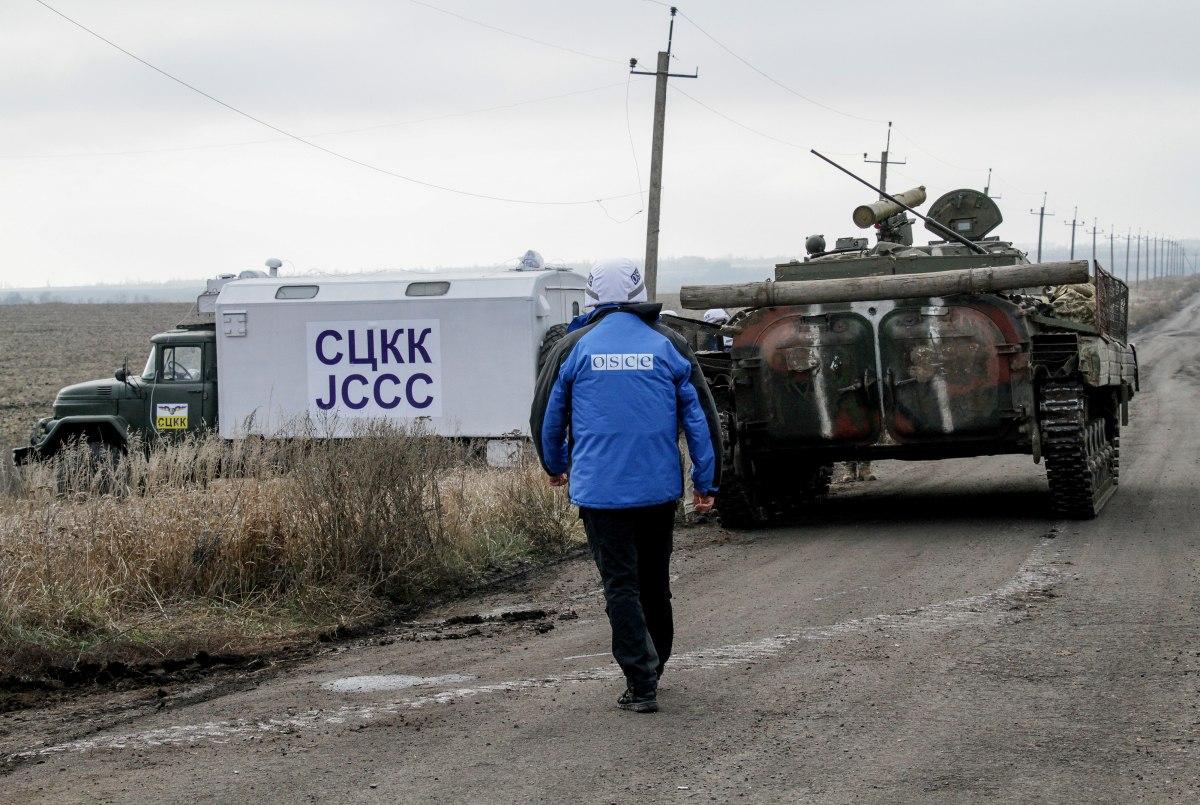 ОБСЕ сообщила о возобновлении позиций боевиков возле участка разведения...