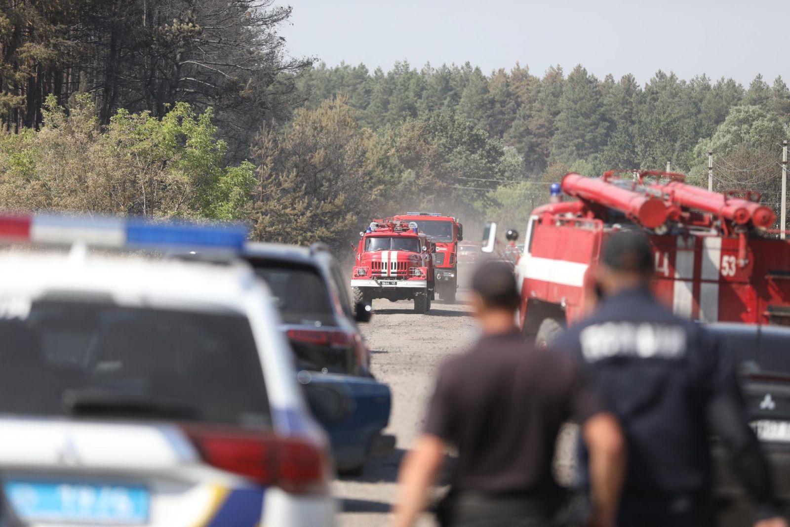 Пожары в Харьковской области: введена чрезвычайная ситуация