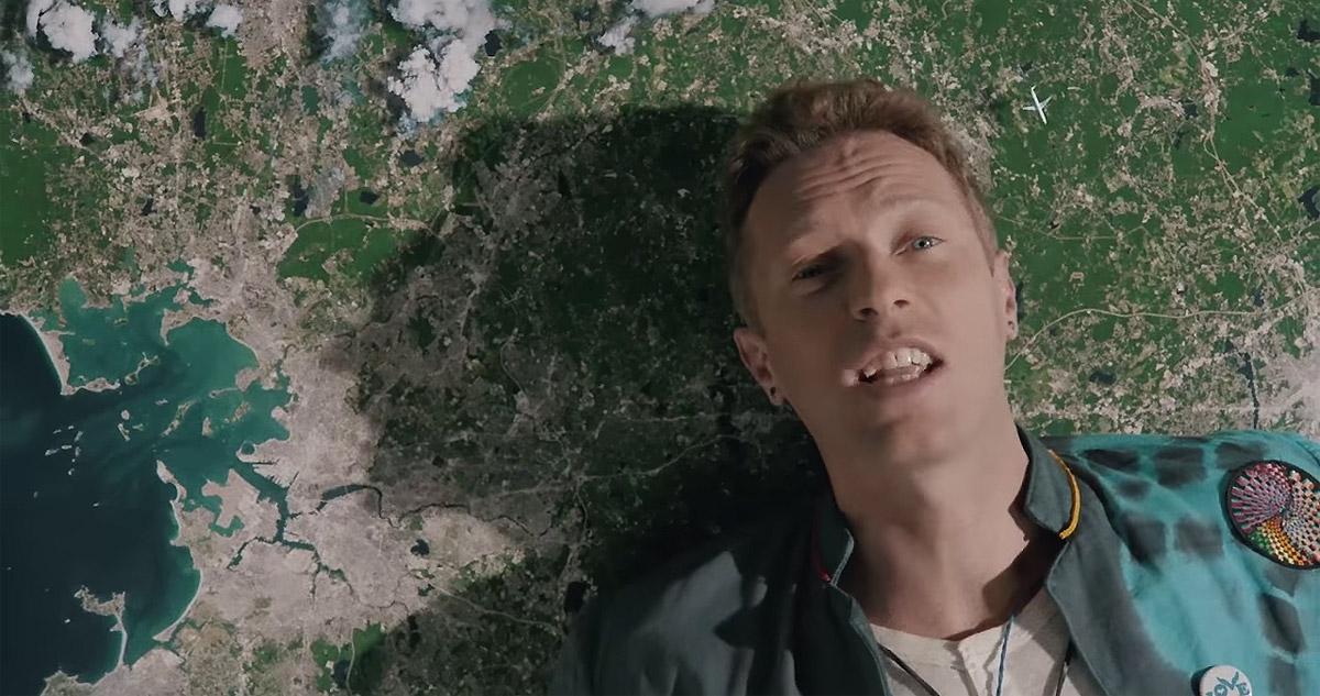 Coldplay показали, как снимался клип Up&Up