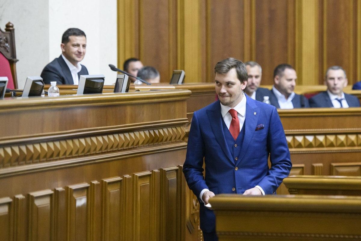 Гончарук стал самым молодым премьером в истории Украины
