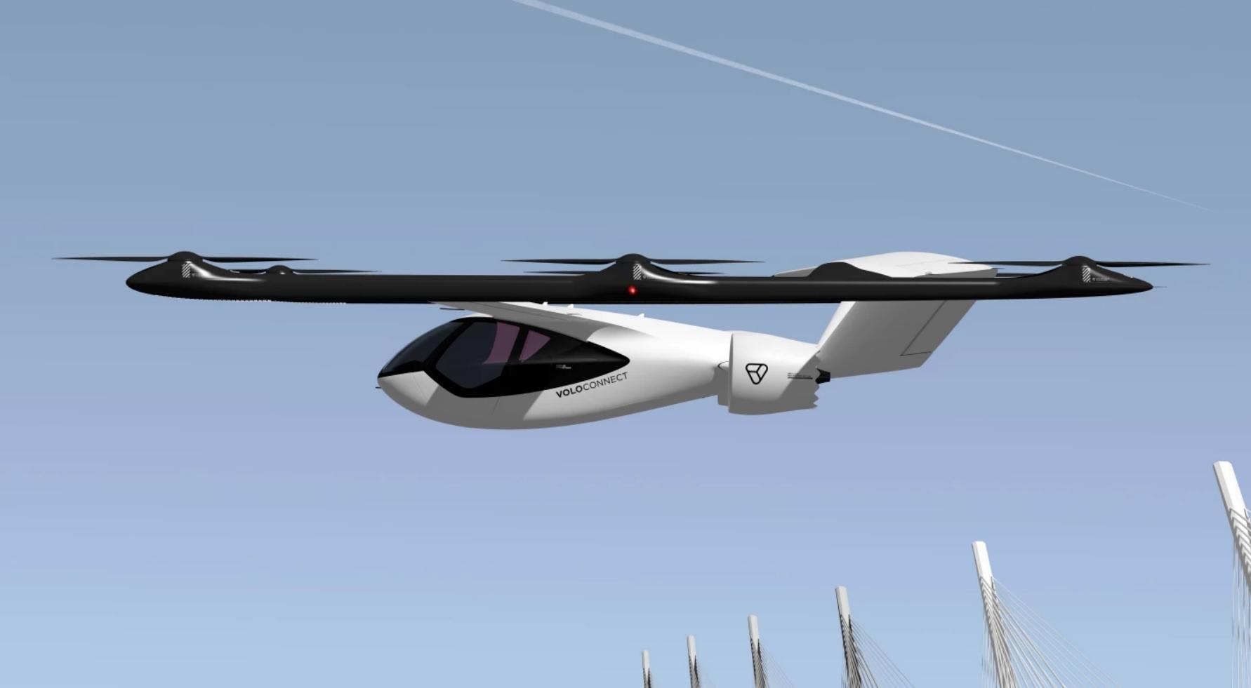 Volocopter выпустила принципиально новую модель воздушного такси для дальних перелетов (фото)