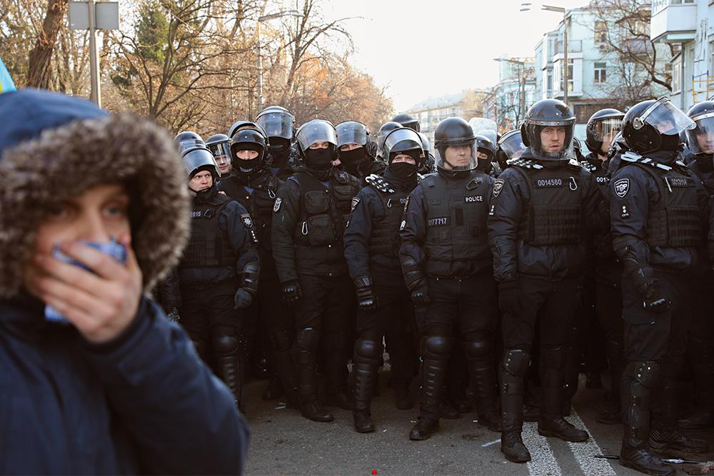 акция протеста, Киев, полиция