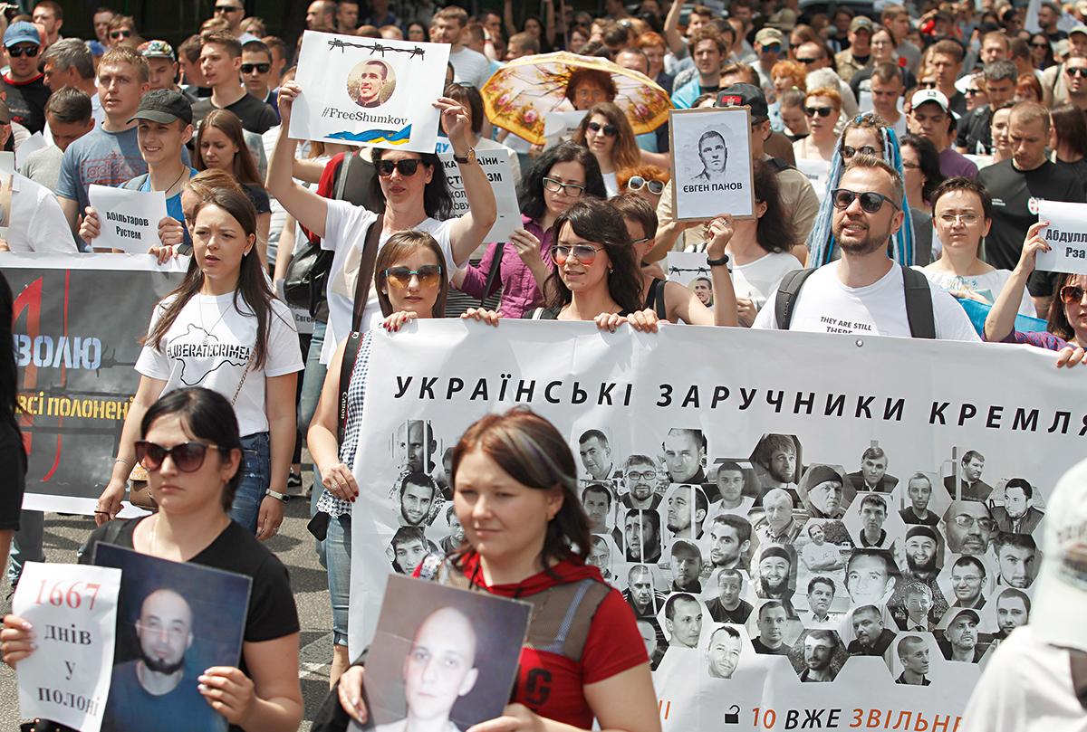 Большой обмен - 2. Кто еще из украинцев остается за решеткой в России