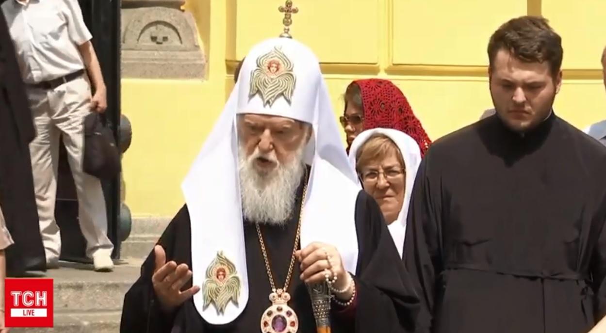Филарет: В Украине теперь будет три православных церкви