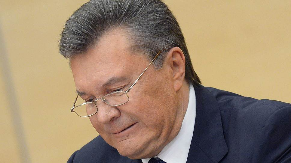 Швейцария продлила заморозку активов Януковича