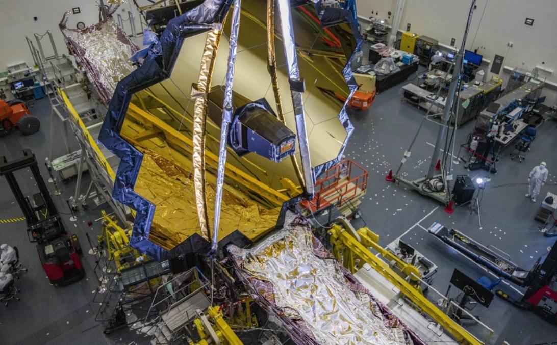 Подвела пандемия: запуск космического телескопа James Webb снова отклады...