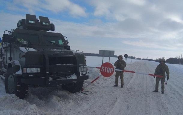 Украинские пограничники усиливают охрану границы с РФ и ЕС