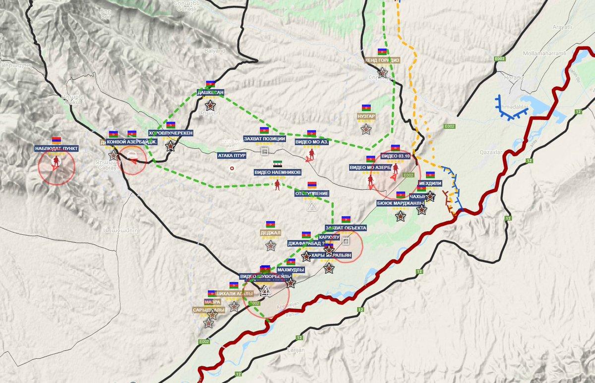 Война за Карабах, день 11-й. Видео пленного, сообщения о десятках убиты...