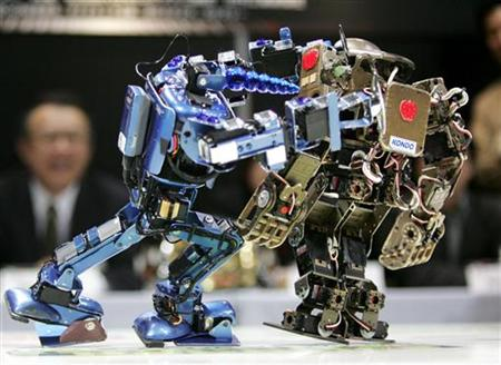 В 2010 году пройдут Олимпийские игры для роботов