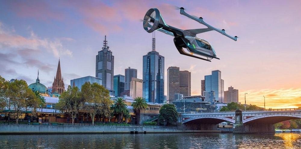 Uber показал салоны летающих такси и анонсировал их запуск в Австралии