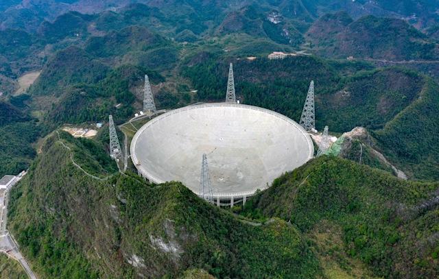 В сентябре гигантский радиотелескоп в Китае начнет поиски инопланетян
