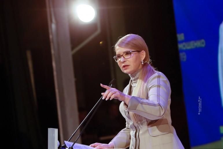 Тимошенко уже дала совет будущему президенту