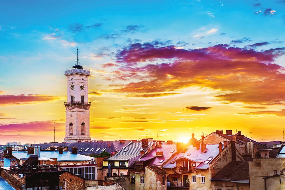 Город с львиным сердцем. Культурная, туристическая, молодёжная, кофейная...