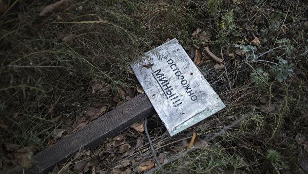 Заминированный Донбасс: Минобороны представило онлайн-карту