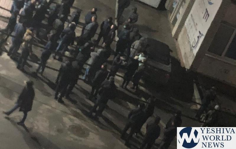 В Умани произошла драка между хасидами и местными: полиция проводит пров...