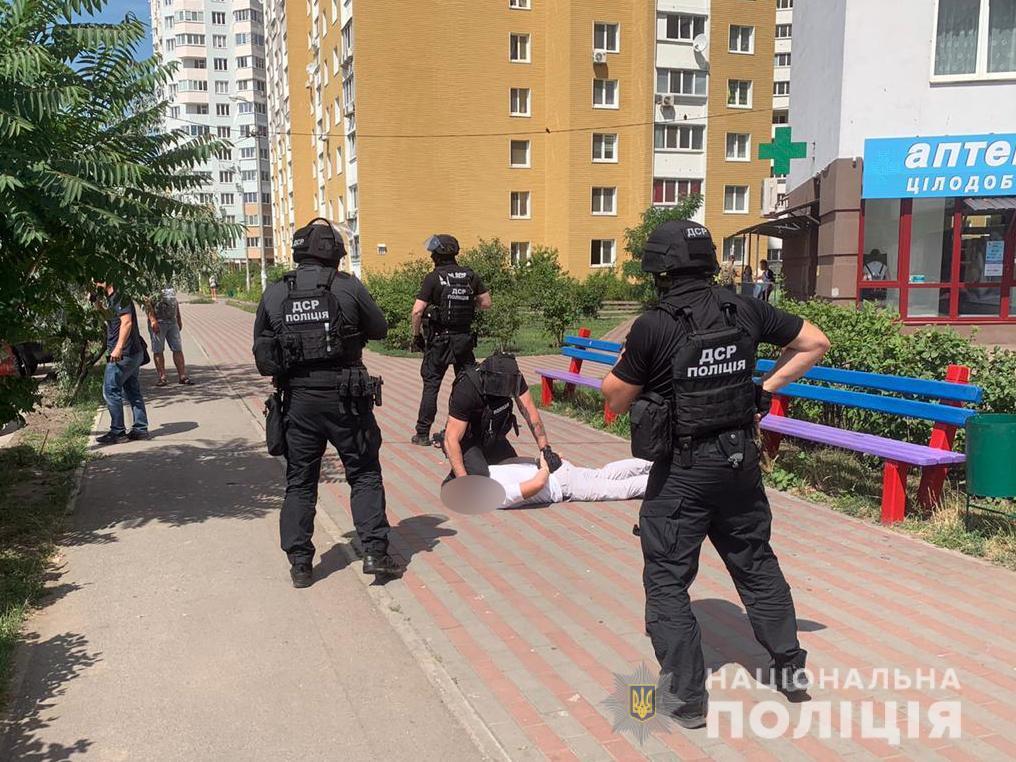 Расстрел автомобиля на трассе Киев – Харьков оказался инсценировкой