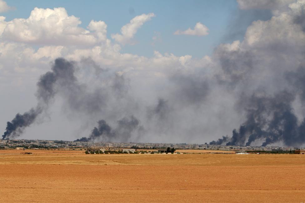 Турция обстреляла северные районы Сирии