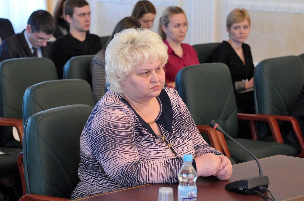 фото, Людмила Горячковская, судья Уманского горрайонного суда Черкасской...