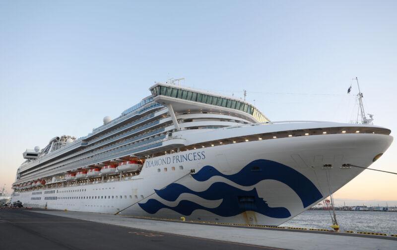 Украинцы с лайнера Diamond Princess не хотят эвакуироваться