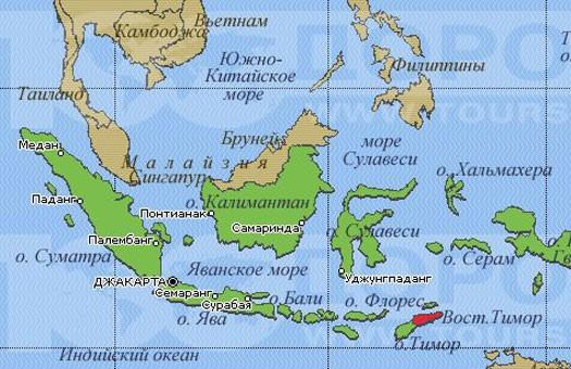 На Суматре произошло второе за сутки землетрясение