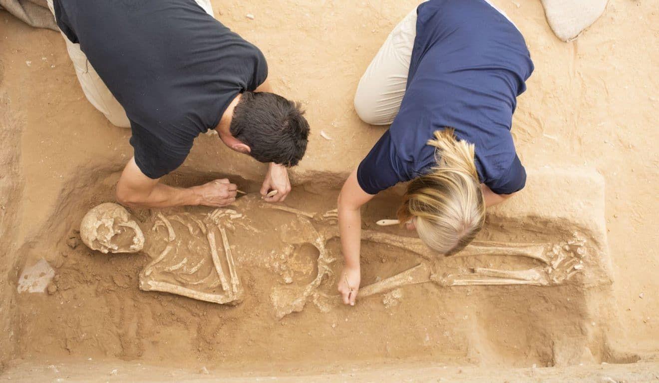 Древние филистимляне оказались европейцами