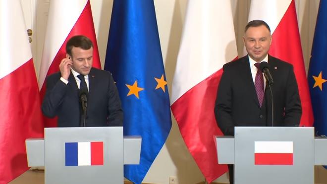 Франция, Польша и Германия ответственны за будущее Европы, – Макрон