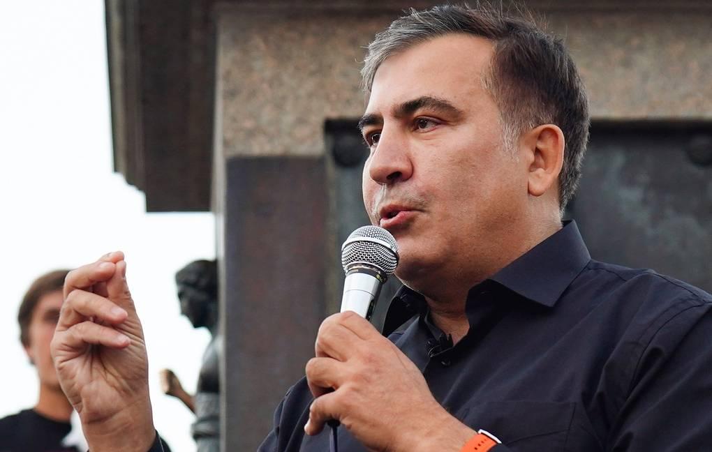Саакашвили хочет повторную жеребьевку порядковых номеров партий в бюллет...