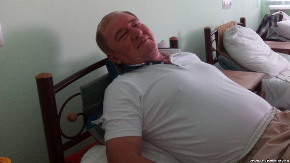 Адвокат: Состояние Ильми Умерова остается тяжелым