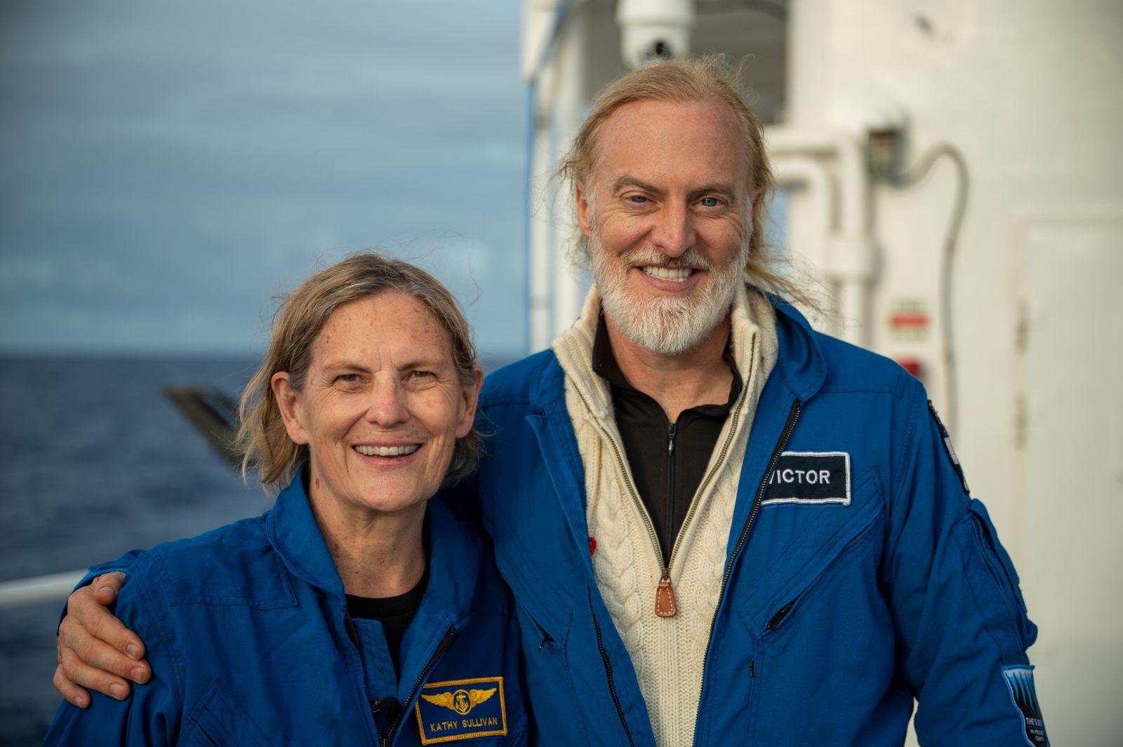 Бывшая астронавт NASA стала первой женщиной, спустившейся на дно Марианс...