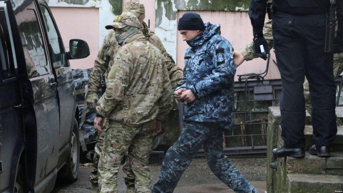 Украина подала на РФ иск в ЕСПЧ из-за военнопленных моряков