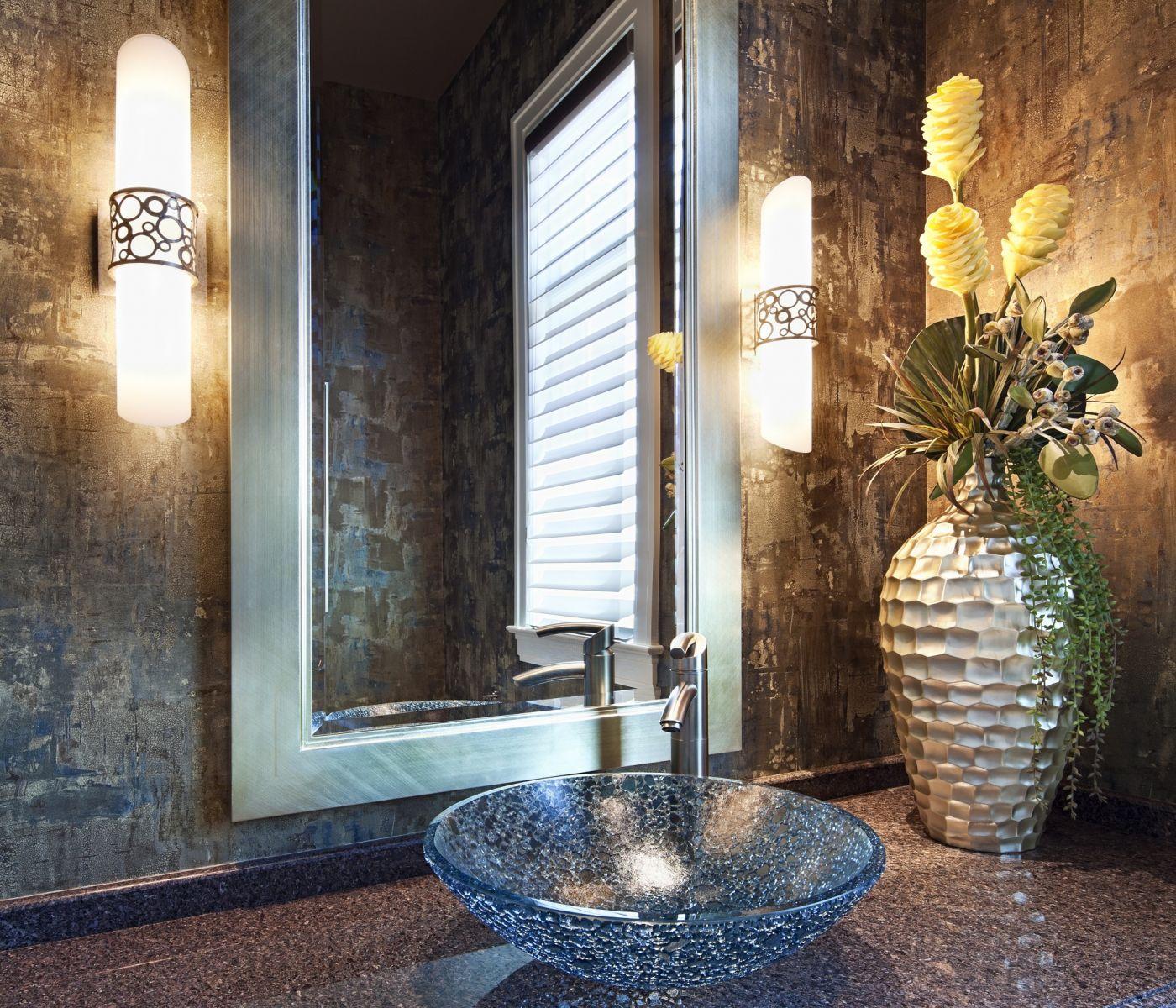 интерьер, ванная, умывальник, фото