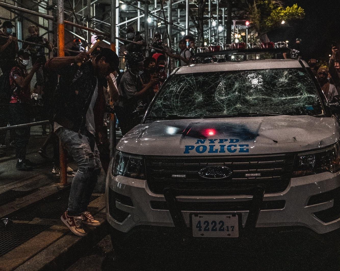 протесты в нью-йорке, джордж флойд