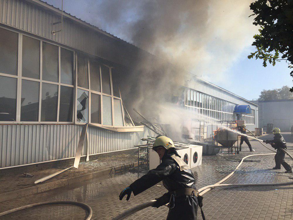Взрыв на заводе в Сумах, есть пострадавшие