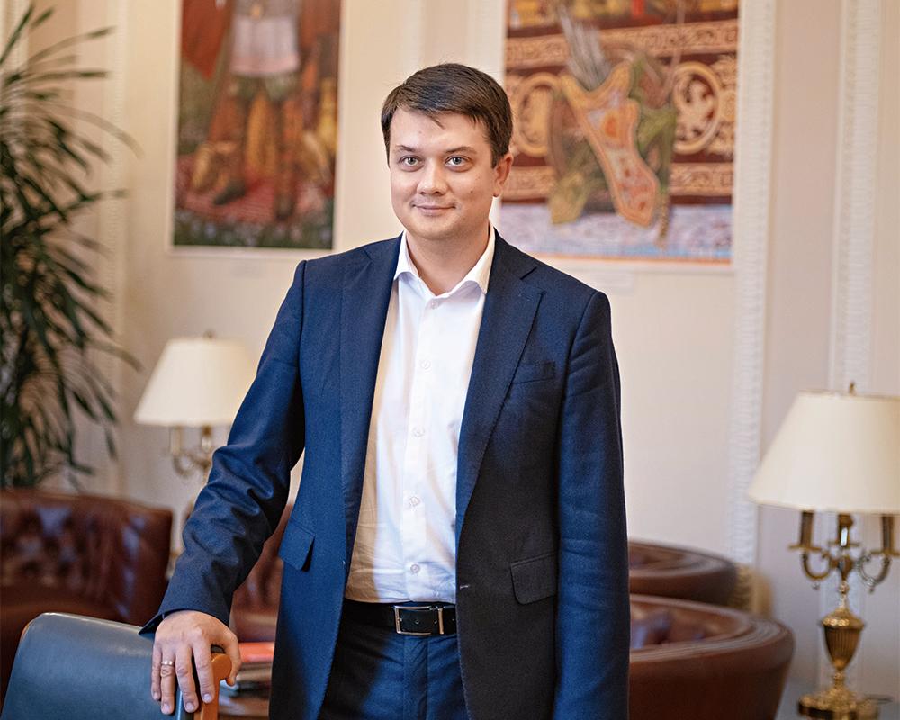 """Дмитрий Разумков: """"Свобода слова не означает, что можно выливать на кого..."""