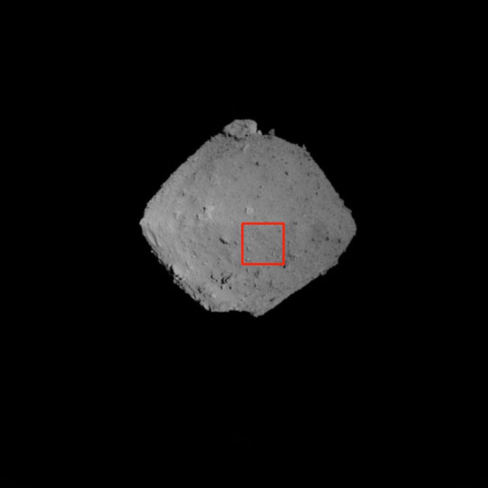Зонд Хаябуса-2 сфотографировал астероид Рюгу с расстояния 1 километр