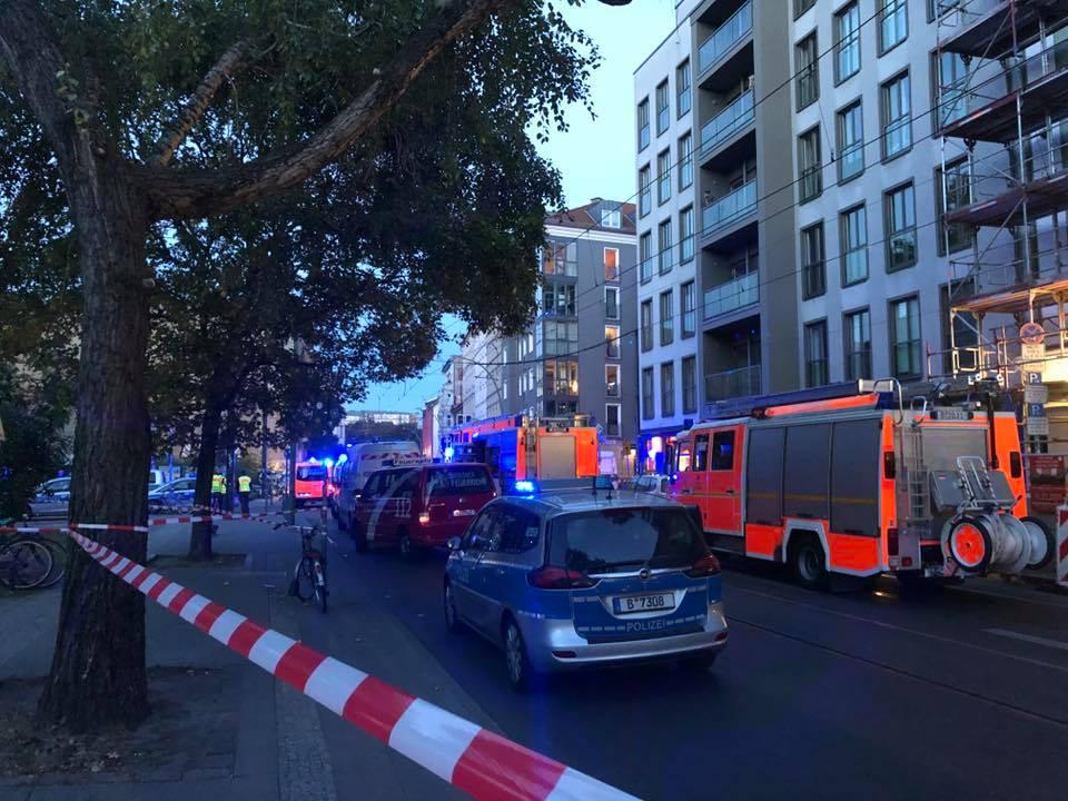 В Берлине Porsche наехал на прохожих, погибли четыре человека